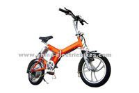 Electric folding Bikes / When you have an Electric folding Bikes, not because of traffic jams and affect you do. can also put the private car trunk, but also over the subway,where to go, easy action.