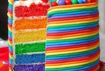 Regenbogen Party Ideen / Ideen und Inspiration für eine Party in allen Regenbogenfarben!