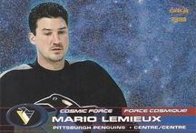 Mario Lemieux Hockey Cards / A collection of Mario Lemieux hockey cards #Lemieux