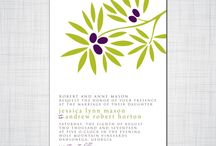 Invitations for Birthdays, Showers and Parties