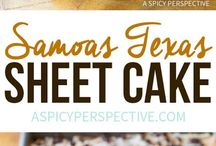 Samoas Cake Recipes