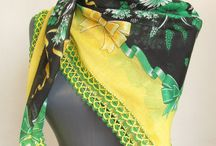 Yellow scarf / by Asuhan Scarf