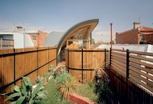 Rooftop gardens / Green rooves