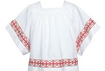 Surplices / Supplier of clergy surplices, pastor robes, vestments & chasubles, clergy shirts, women's dresses. www.clergy-apparel.com