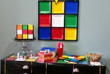 Rubix Cube Birthday Party