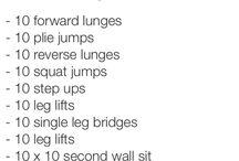 Fitness Inspiration  / by Bridget Sturm