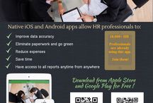 Go paperless with HR tasks / How HR professionals use mobile apps to go paperless. https://www.snappii.com/app/hr/