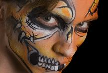 Halloween Make Up Inspiration / Halloween make up inspiration and ideas from artists around the world