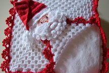 porta guardanapo em crochet