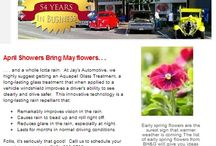 """""""Your Car Matters"""" / Each week at Jay's Automotive, we provide you with a newsletter that is not your average read!  We like to give you tips about your car, about your health, games, a recipe from Jay's Kitchen, and a whole lot of other stuff that makes you go smile and go what were thinking! Sign-Up for our Newsletter today - jaysautomotive1959@gmail.com"""