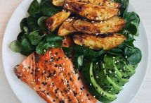 ALL DINNERS FISH: