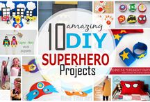 DIY SUPERHERO PROJECTS / if you had a superpower, what would it be? In this board I am sharing amazing Superhero projects that you can make at home with your little ones.  / by Maria Palito