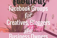 FACEBOOK | Tips for Bloggers & Influencers / Learn how you can effectively use Facebook to grow your blog traffic and social media following!