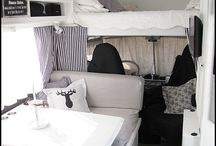 Van ideas / Van ideas for van decoration and camper work. Decoration ideas for vans and tiny homes