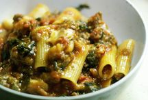 Yummy Recipes-Pasta/Eggplant/Vegetarian
