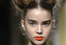 CATWALK AND MODELS HAIRSTYLE + EDITORIALS / CATWALK AND MODEL HAIRSTYLE
