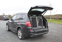BMW / A selection of TransK9 Dog Transit Boxes & Cages suitable for the BMW range of vehicles