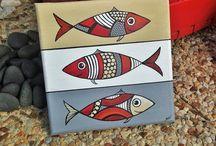 poisson mosaique