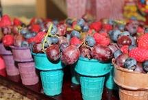 Food - Ice Cream Cone Fruits