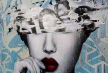 Hush street art / Artiste anglais