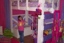 Kids bedroom ideas / by Tricialynn Hrankowski