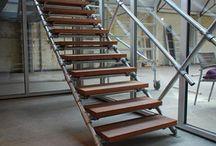 Bollenschuur trap / Nieuw kantoor