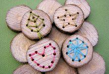 Výrobky ze dřevěných koleček