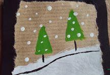 χριστουγενιάτικες κάρτες