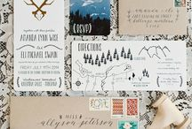 Craft wedding invitation