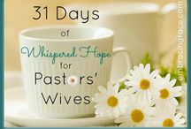 31 Days of Whispered Hope for Pastors' Wives