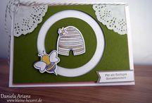 Made by me - buntFalter / Hier präsentiere ich einige meiner Kreationen aus Papier. www.buntfalter.de (ehemals  www.kleine-hexerei.de)