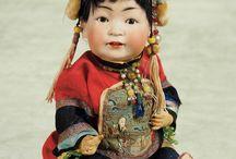 asian/oriental dolls