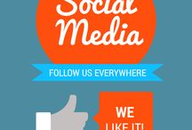 Let's get social / Follow us everywhere ... we like it!!