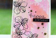 Cards Altenew Wild Hibiscus / by Aletta Heij
