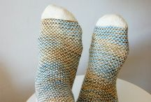Knit Socks / Knit Socks / by Lenore Wetzel