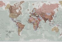 World Maps / Maps of the World for every global explorer!