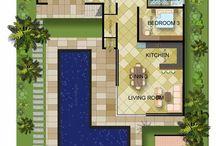 L Shaped houses
