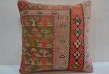 Fall Decor / . Vintage Hand Woven Kilim Pillow Cover - Vintage Turkish - Accent Pillow -Decorative Pillows -Pillow Cases -kilim pillow 16/16