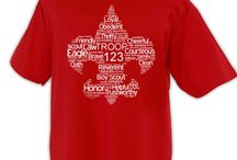 Scout Shirt Designs