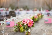 Party decor and table settings / by Nancy Nicoll