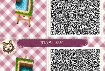 Animal Crossing New Leaf / Everything for acnl: QR Codes, room- and towninspiration and more