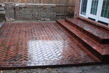 front steps/walkway / by Angela Adams