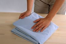 Fold fitted sheet