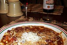 Soups & Stews & Chili's  / by Cara James