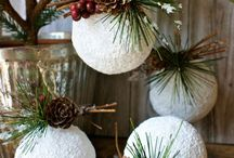 Deck the Halls / Bust out the box labeled Xmas and let's get to decorating! Trim your tree, polish your ornaments and hang up the mistletoe -- we're getting into the Holiday spirit with our  Holiday Décor Pinterest board.