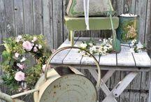 Deck ideas - Shabby, antique, plant, bohemian