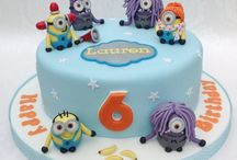 cake minions