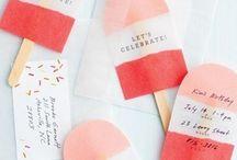Design – Invitations