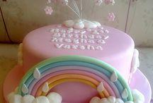 Sunshine themed cakes