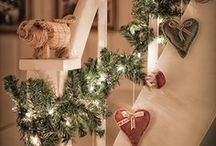 Addobbi Natale per scale